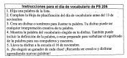 Spanish Instructions