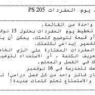 Arabic Instructions