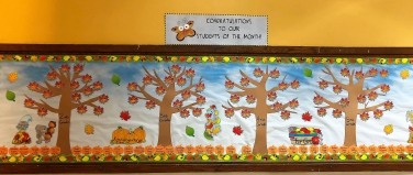 student month oct 2018 board